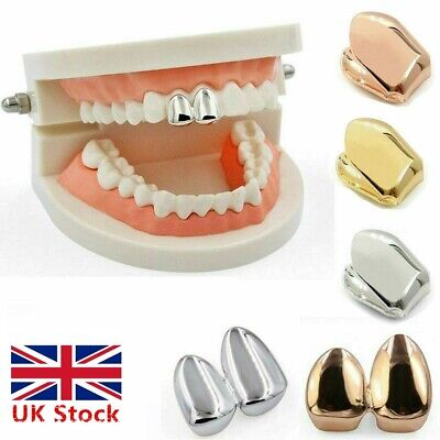 UK Custom Gold Teeth Silver Plated Small Single Tooth Cap Grill Tooth UK Zian
