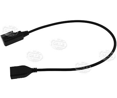 Music AMI MMI MDI Interface USB Charger 3.5mm Aux Jack MP3 Cable for Audi A4L TT
