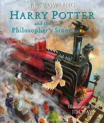 Harry Potter and the Philosopher's Stone: Illustrated Edition (Ha...