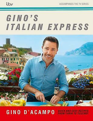 Gino's Italian Express by Gino D'Acampo New Hardcover Book