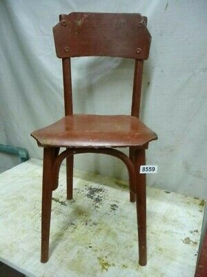 8559. Alter Bugholz Stuhl old wooden chair