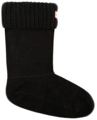 Hunter Boot Socks Dual Cable Cuff Military Red Large UK6-8 CLEARANCE