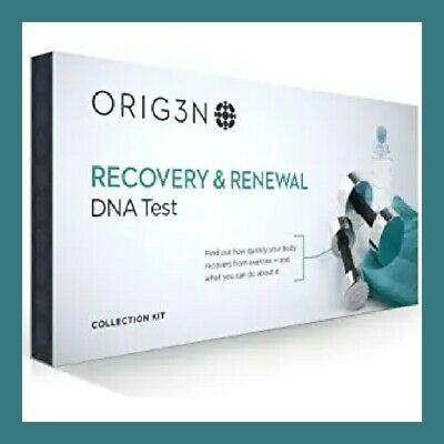 ORIG3N *RECOVERY & RENEWAL*    Mini Home Dna Test  *New in sealed package!*