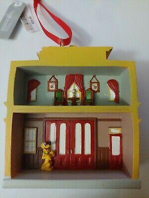 Disney Parks Disneyland Main Street Fire Department Ornament Christmas Holiday