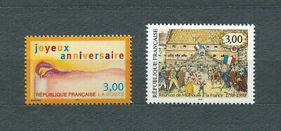 FRANCE - 1998 YT 3141 à 3142 - TIMBRES NEUFS** LUXE