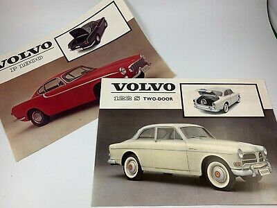 Pair of Vintage VOLVO Car/Automobile Advertisements Suitable For Framing