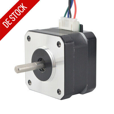 Short Body Nema 17 Stepper Motor(Schrittmotor) 1.8deg 20Ncm 1.2A 42x30mm 4-wire