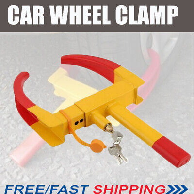 Adjustable Car Motorhome Tyre Wheel Clamp Tire Security Lock Anti-Theft Towing