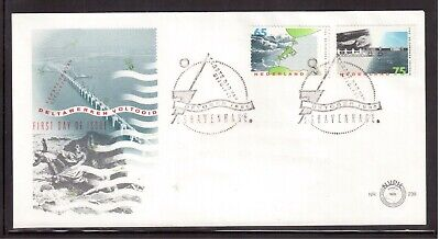 Netherlands 1986 First Day Cover, Delta Project Completion !!