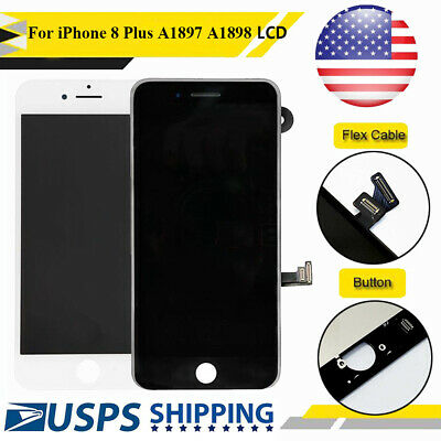 """OEM iPhone 8 Plus 5.5"""" LCD Display Touch Digitizer Screen Replacement Assembly"""