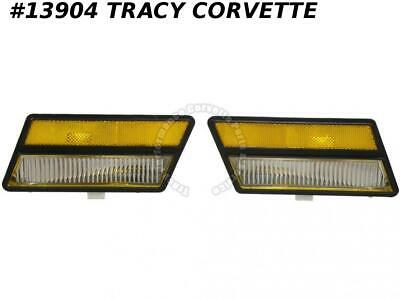 1980-1982 Corvette Front Cornering / Marker Lamps - from GM Original Tooling