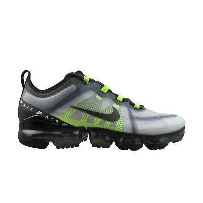 Nike Air VaporMax 2019 LX Running Shoe Atmosphere Grey Volt BV1712-001 Mens Size