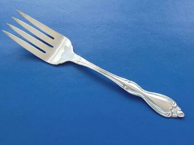 Wm A Rogers OLD SOUTH II Cold Meat Serving Fork Oneida Silverplate 1949 EUC