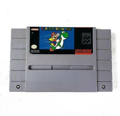 Super Mario World Video Game for SNES Cartridge Only