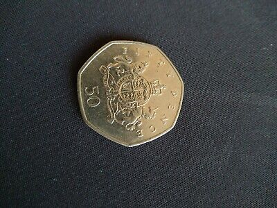 2013 Christopher Ironside 100th Anniversary 50p Coin
