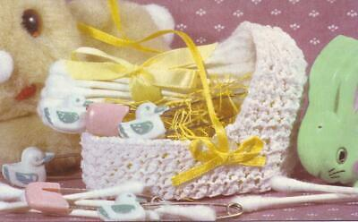 Multifaceted Bassinet Crochet Pattern Instructions