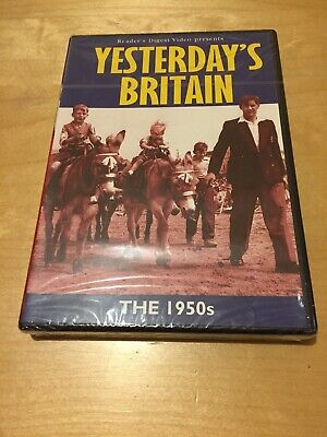 YESTERDAYS BRITAIN THE 1950s READERS DIGEST BRAND NEW AND SEALED