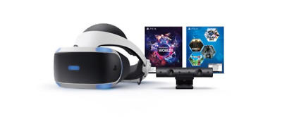 Sony - PlayStation VR Mega Pack with 5 Five Game bundle-Virtual Reality PS4