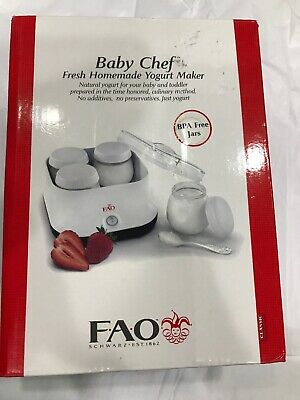 FAO Baby Chef Fresh Homemade Yogurt Maker