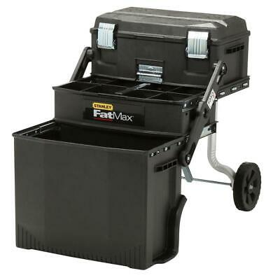 Cantilever Mobile Work Center Tool Parts Storage Box Lockable Rolling Wheels NEW
