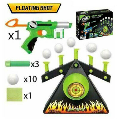 Hot Hover Floating Target Air Shot Game Foam Dart Blaster Shooting Ball Toy Gift