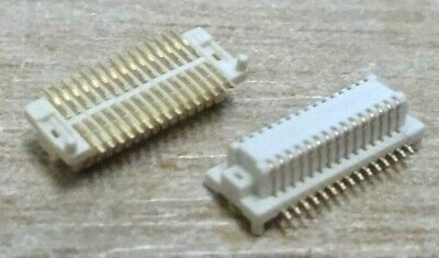 25x 2001S-30G-220-01 30 way stacking board connector receptical SMD 0.5mm