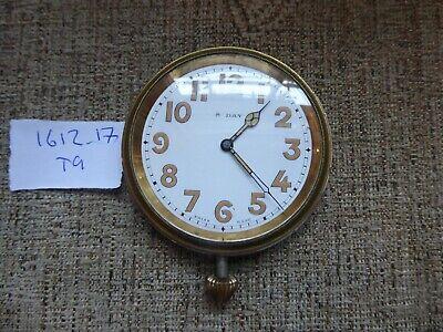 ANTIQUE  8 day TRAVEL CLOCK WORKING