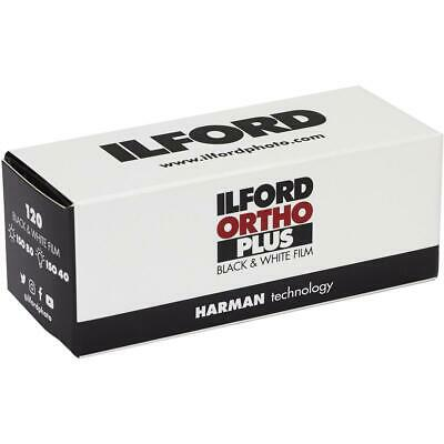 Ilford Ortho Plus Black and White Negative Film, 120 Roll #1180969