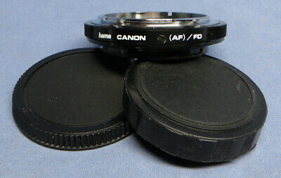 Hama Canon AF/FD Lens Converter FD Lens to EOS Body NM!