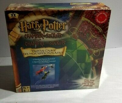 Harry Potter and the Chamber of Secrets - Trivia Board Game  (English version)