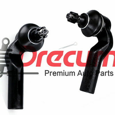 2PC Front Outer Tie Rod End Pair For 2004-2014 Mazda 3 06-2010 2012-2013 Mazda 5