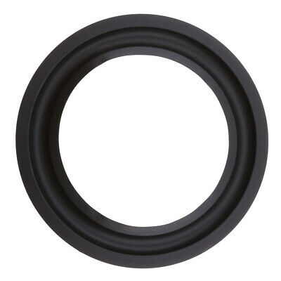 """1x 6.5/"""" inch Rubber Woofer Speaker Part Light Surrounds Repairs Spare 155MM UK"""