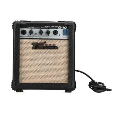 TS GT-10W Guitar Amplifier for Acoustic and Electric Guitars Speaker Amp 10W USA
