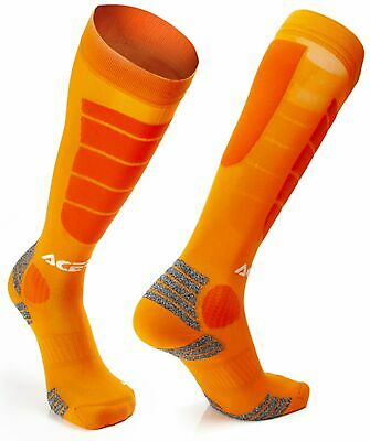 Acerbis MX Socken IMPACT orange lang L/XL
