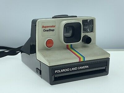 Polaroid Super Color One Step Land Camera Vintage Instant Great Condition Works