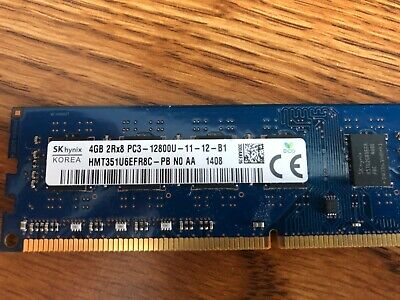 LOT 20 2Gb 40Gb Hynix DDR3-1600 PC3L-12800 Laptop RAM Tested 20x2Gb