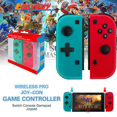 Wireless Pro Joy-Con Game Controller Console Gamepad Joypad for Nintend Switch