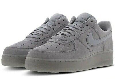 NIKE AIR FORCE 1 Low '07 Lv8 Suede Wolf Grey Sizes 6