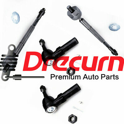 4Pcs Inner Outer Tie Rod End for 2005-2015 Toyota Tacoma 2WD