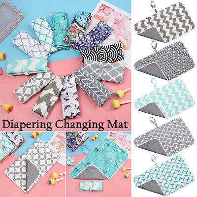 Waterproof Nappy Urine Pads Diaper Changing Mat Foldable Changing Pads & Covers