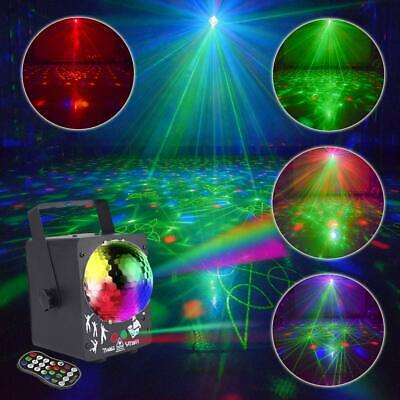 60in1 RGB Disco Party DJ Sound Active Stage Lighting LED Light Laser, Controller
