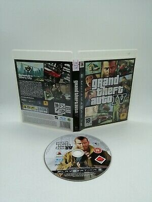 Grand Theft Auto IV GTA 4 PS3 PlayStation 3 videogioco funzionante italiano