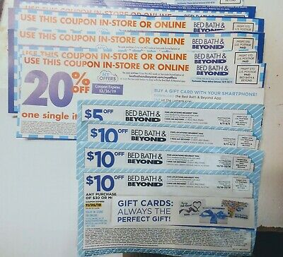 Bed Bath Amp Beyond 20 Off Entire Purchase Coupon 8 26