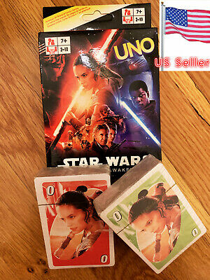 UNO Original Star Wars Character Card Game Fast Free Shipping From US Seller