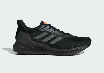 adidas Solar Ride Men's Running Shoe Size 10 Core Black/Grey