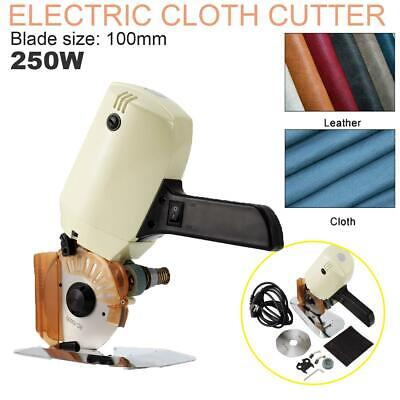 Electric Cloth Cutter Fabric Cutting Machine 100mm Blade Octagonal Round Knife