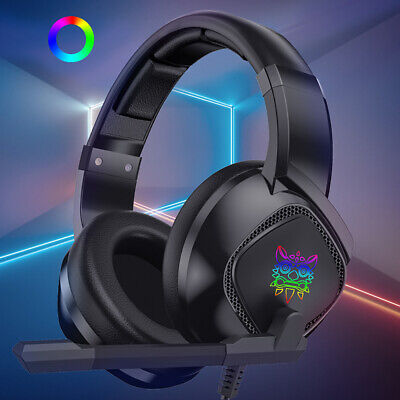 3.5mm Gaming Stereo Headset LED Headphone For Xbox one/PS4/PC/Nintendo Switch