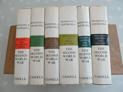 The Second World War Winston Churchill Complete 6 Volumes Set By  Cassell