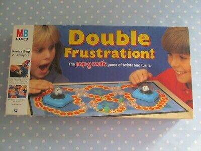 Double Frustration Board Game By Mb Games Rare Vintage Dated 1989 Complete