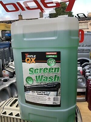 15 Below  25 Ltr Apple Fragrance Concentrated Screen Wash